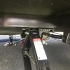 Steadyfast rear stabilizer brace showing easy to use locking bracket assembly with handle.